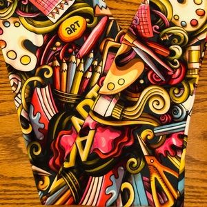 Lularoe Art leggings